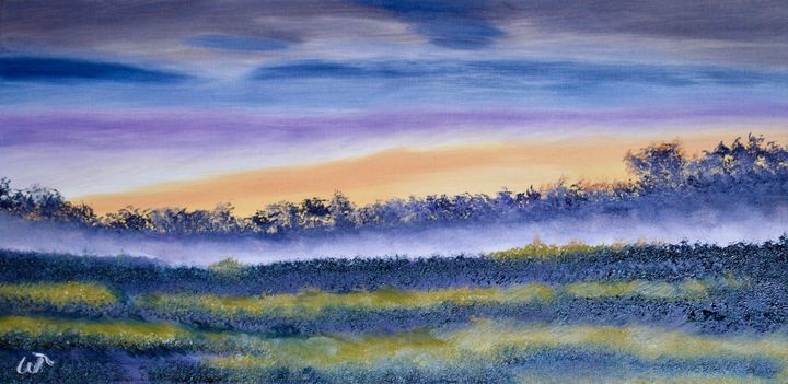 Up and Coming Sunrise Painting - Thompson Gallery