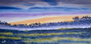 Up and Coming Sunrise Painting