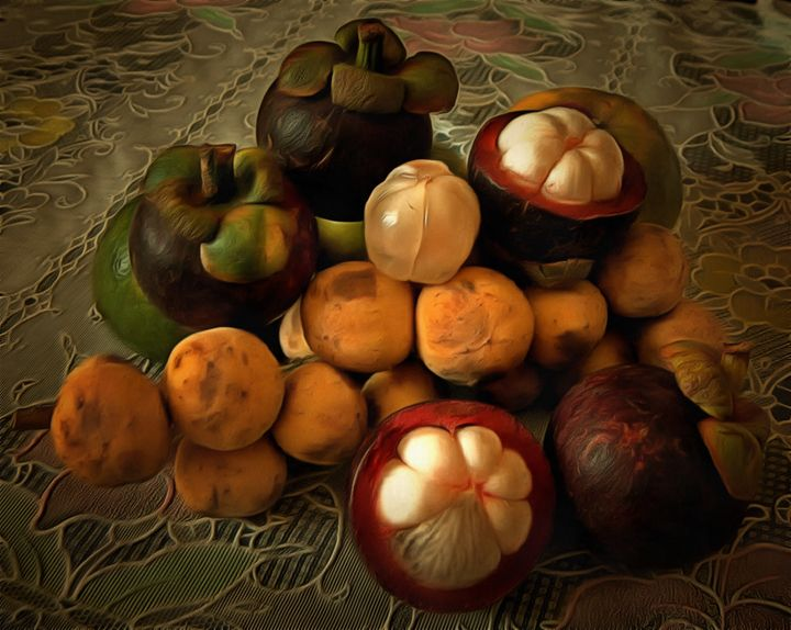 Fruits of Thailand - My art