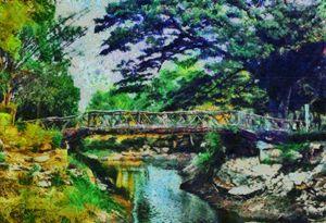 The bridge at Kor Sor