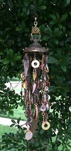 Repurposed Metals & Wing Chime