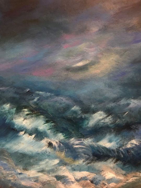 Stormy Sea - Norma Golden