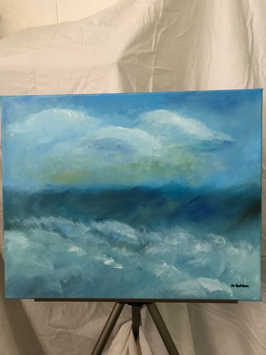 Angry Waters - Norma Golden