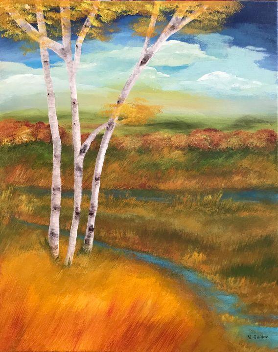 Autumn on the Bayou - Norma Golden