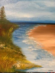 At the Big Lake - Norma Golden
