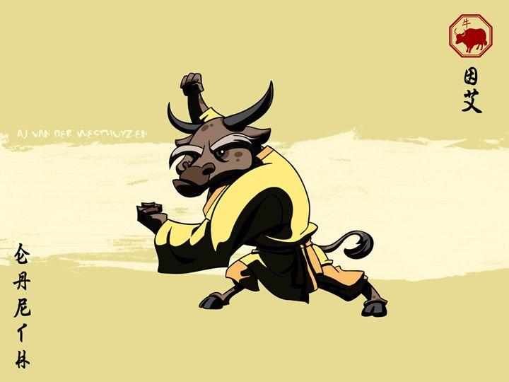 Asian Zodiac - The Ox - AJ van der Westhuyzen