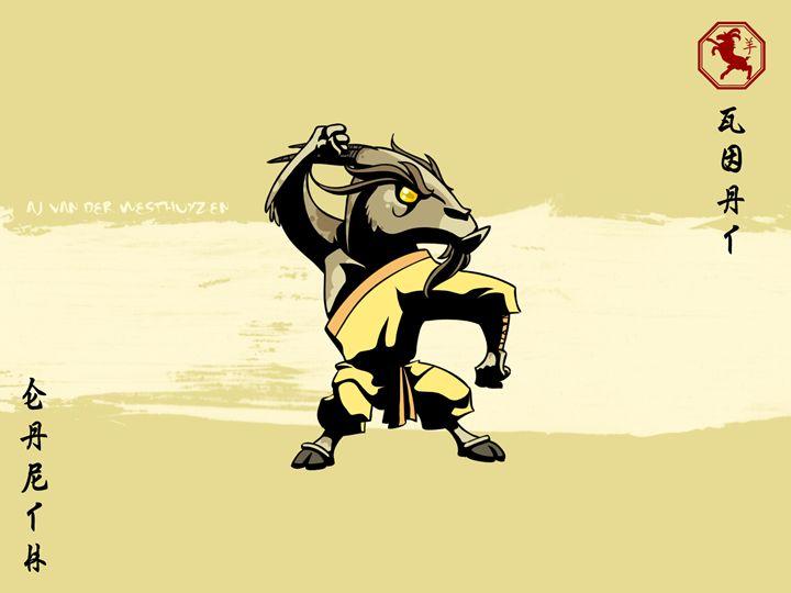 Asian Zodiac - The Goat - AJ van der Westhuyzen