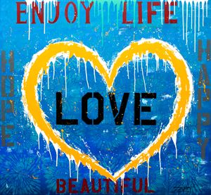"Jozza ""Enjoy Life"" 60X55"