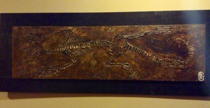 Lizard Fossil Style - Giuseppe Frontoni