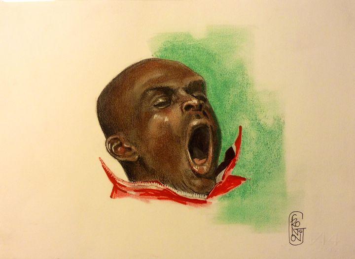 The yawn - Giuseppe Frontoni