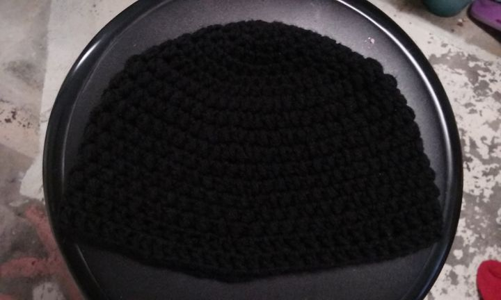 Solid Color Crochet Beanie - Products From Your Local Pastry