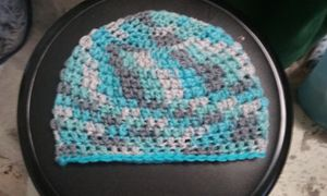 Custom Color/Pattern Crochet Beanie
