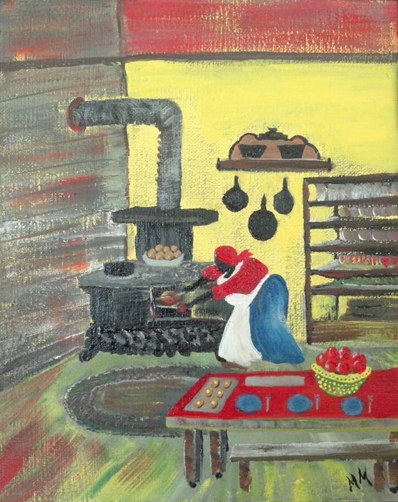 Turkey's Done - Wash Pot Folk Art