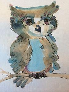 Wisteria Owl