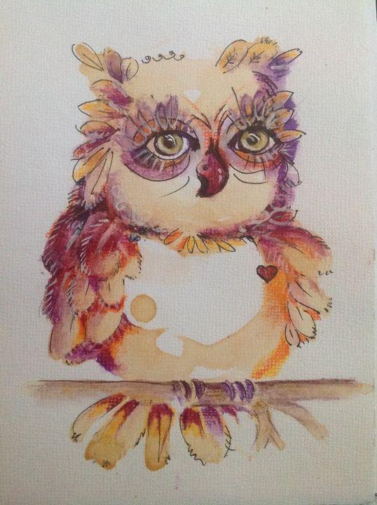 Fedora Owl - Woot Owls