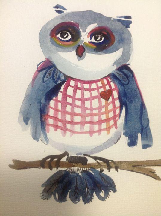 Valentino Owl - Woot Owls