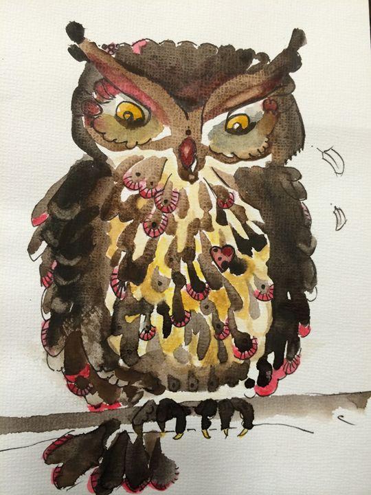Clawed owl - Woot Owls