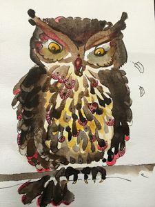 Clawed owl