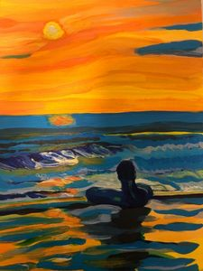 Sunset in Bali - Marcello's Art