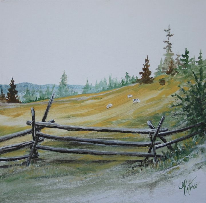 A Fence for the Meadow - Art of the American West