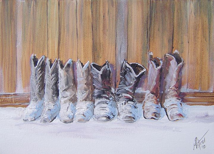 Popsicle Toes - Art of the American West