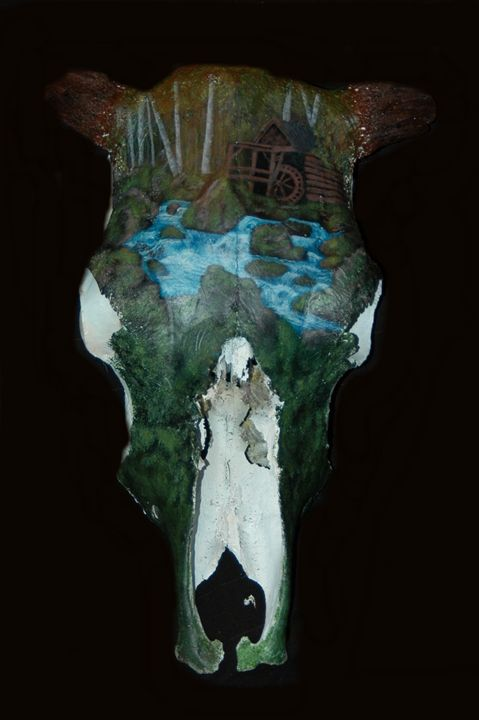 The Ol' Grist Mill - Blackwater Art and Skulls