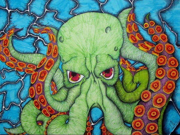 The Octopus - Andrea Saldana