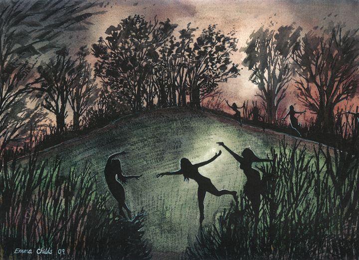 Moonlight Dance - Emma Childs Art