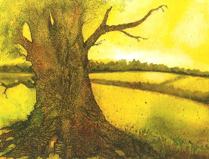 Summer Oak - Emma Childs Art
