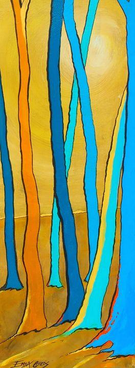 ochre wood - Emma Childs Art