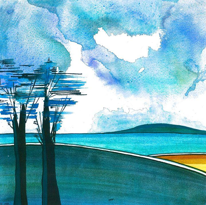 Blue Island - Emma Childs Art