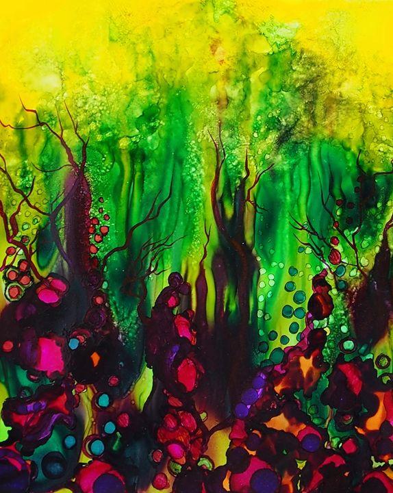 Rainforest 2 - Emma Childs Art