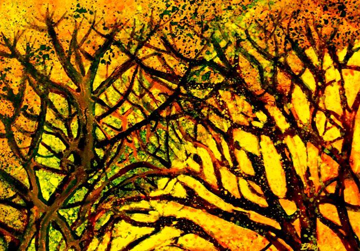 The fall - Emma Childs Art