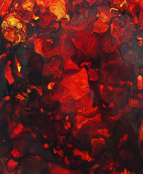 The red planet 3 - Emma Childs Art