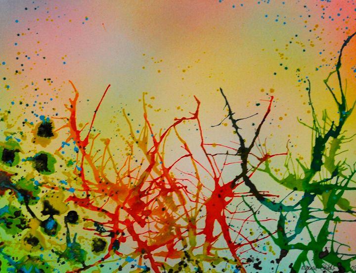 Vibrant Splash - Emma Childs Art