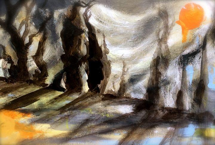 Dreams after Van Gogh - Emma Childs Art