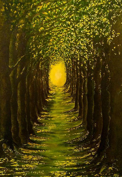 The Avenue At Dusk - Emma Childs Art