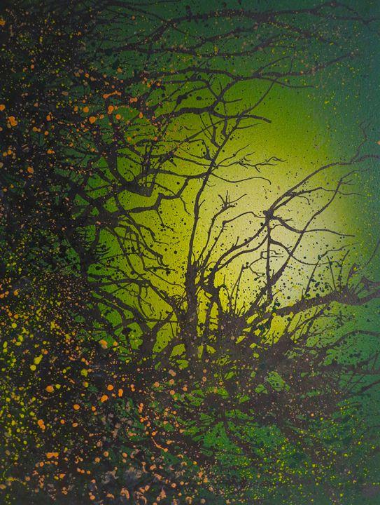 Green Vibes - Emma Childs Art