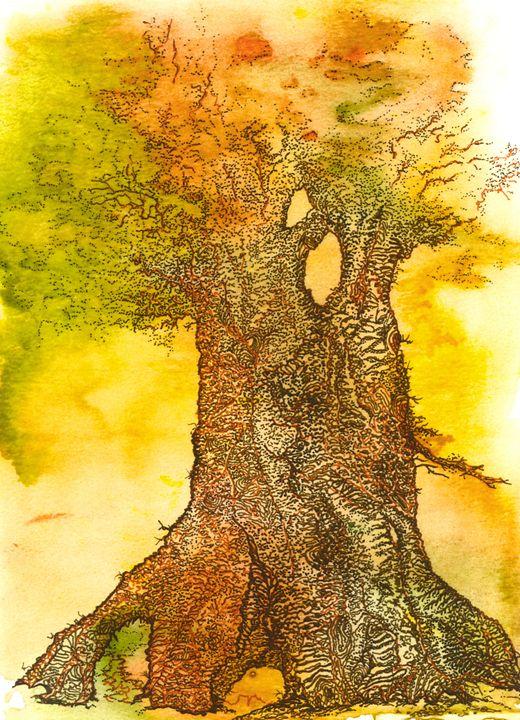 Summer Oak 2 - Emma Childs Art
