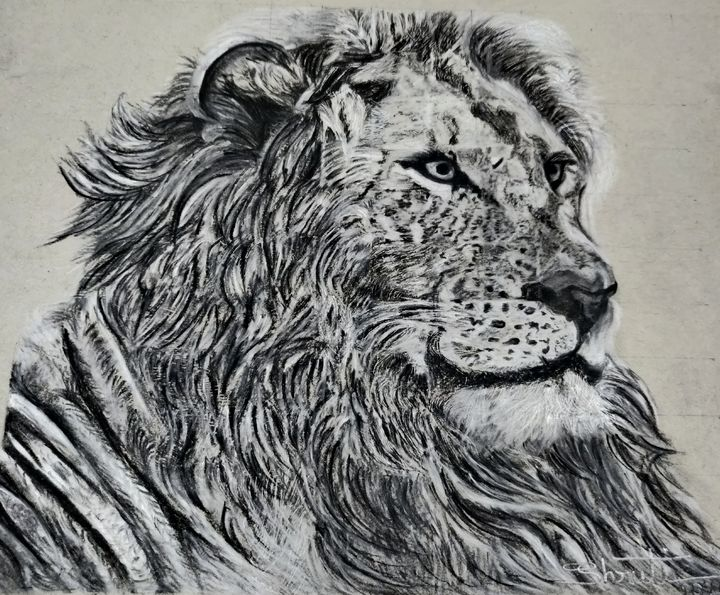 Asiatic Lion - Shruti's Hobby Corner