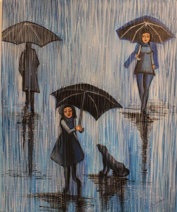girl with umbrella - LIONS CLUB OF CALICUT EAST