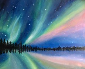 Astonishing Borealis Aurora
