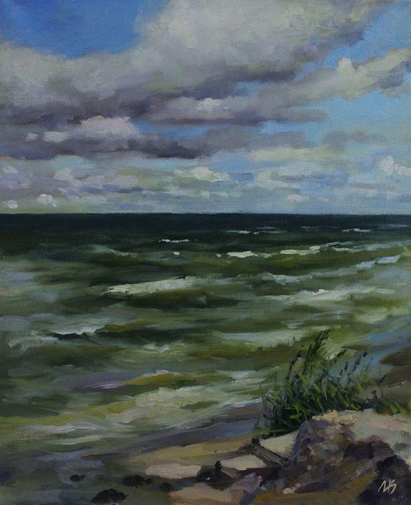 Baltic sea. Otradnoe - Natalia Lazareva