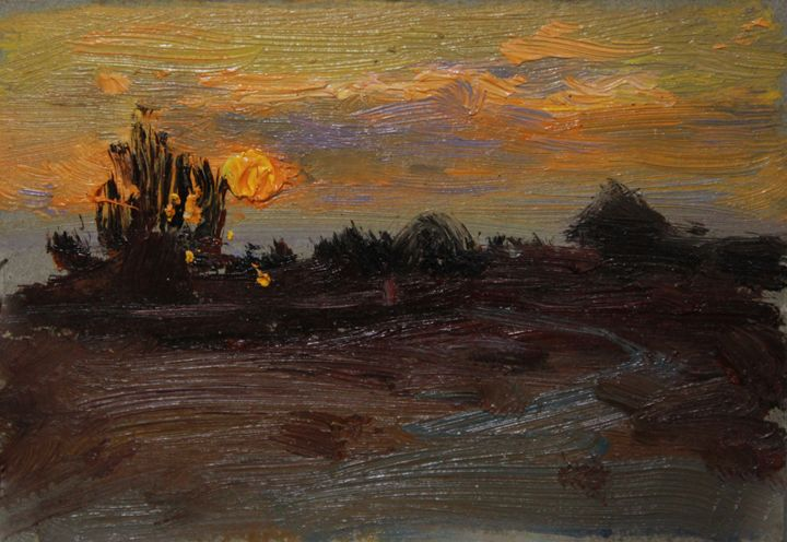Sunset on Kazantip - Natalia Lazareva