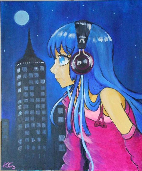 Big City Girl - ChillAcrylic