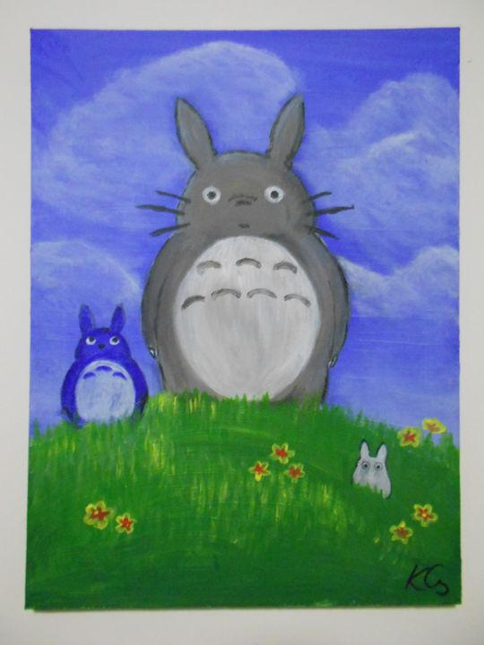 Totoro and Friends - ChillAcrylic