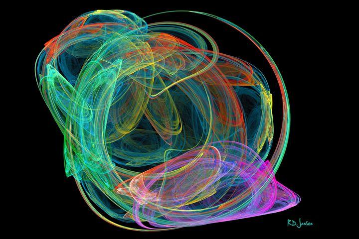 Colored Wormhole - Robert D. Jansen