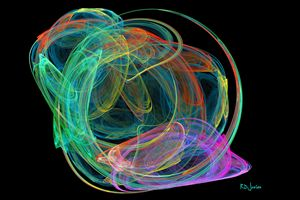Colored Wormhole