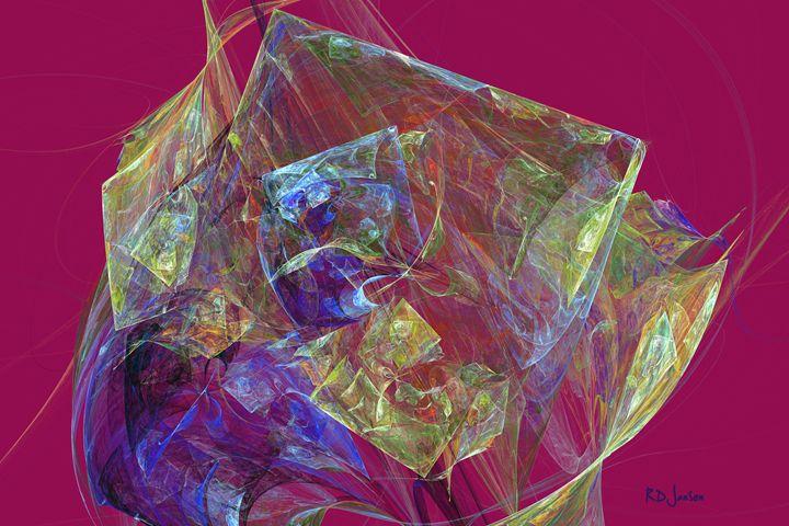 Cubed Flower - Robert D. Jansen