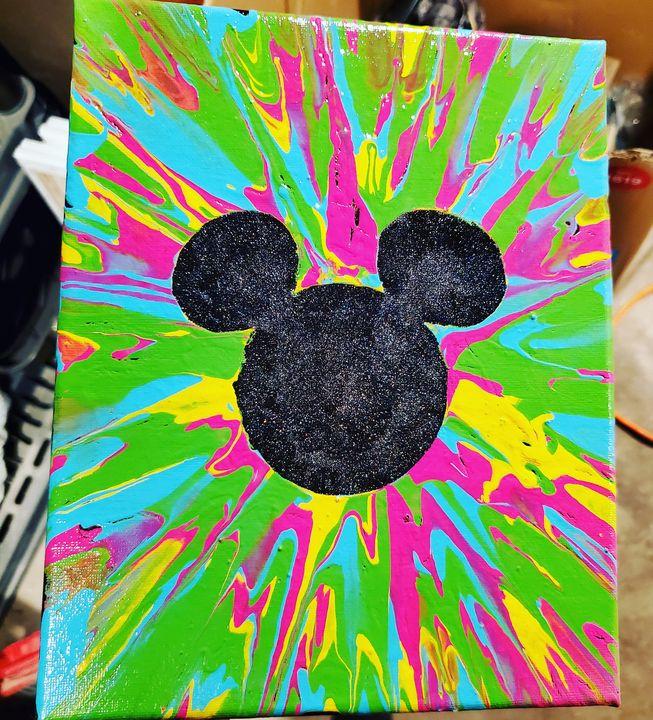 Bright Mickey - Spun. by Amie